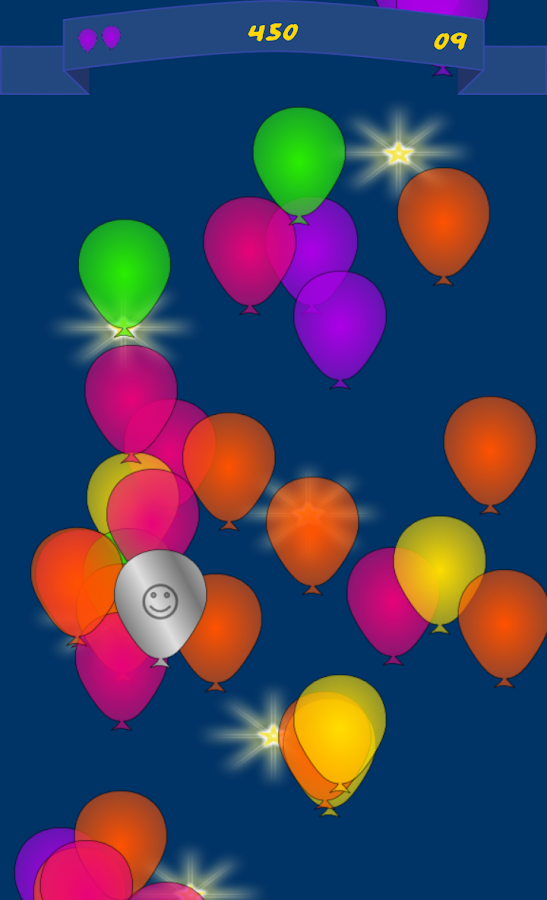 3,2,1 Burst balloons ! - screenshot