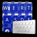 GinghamCheckNavyblue keyboard logo