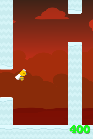 【免費街機App】Flappy Bee-APP點子