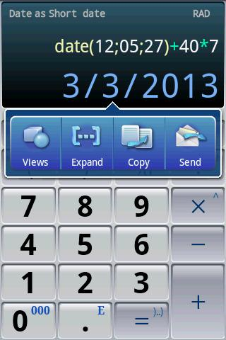 Easy Calculator Pro - screenshot