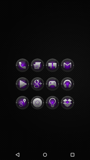 Black and Purple - Icon Pack