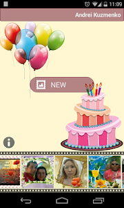 Birthday Photo Frames screenshot 0
