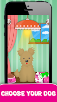 Screenshot of Dog Care Salon