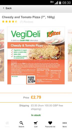 玩購物App VBites Foods免費 APP試玩