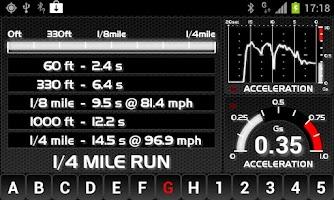 Screenshot of aCarputer GPS OBD