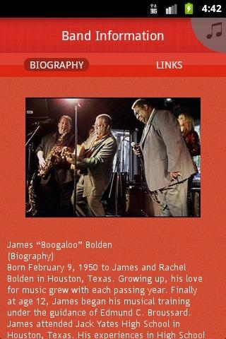 James Boogaloo Bolden Blues Ba - screenshot