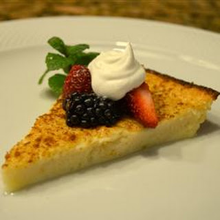 Egg Custard Pie I.