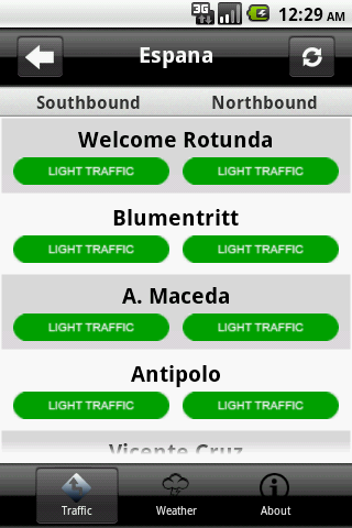 Metro Traffic Live!- screenshot