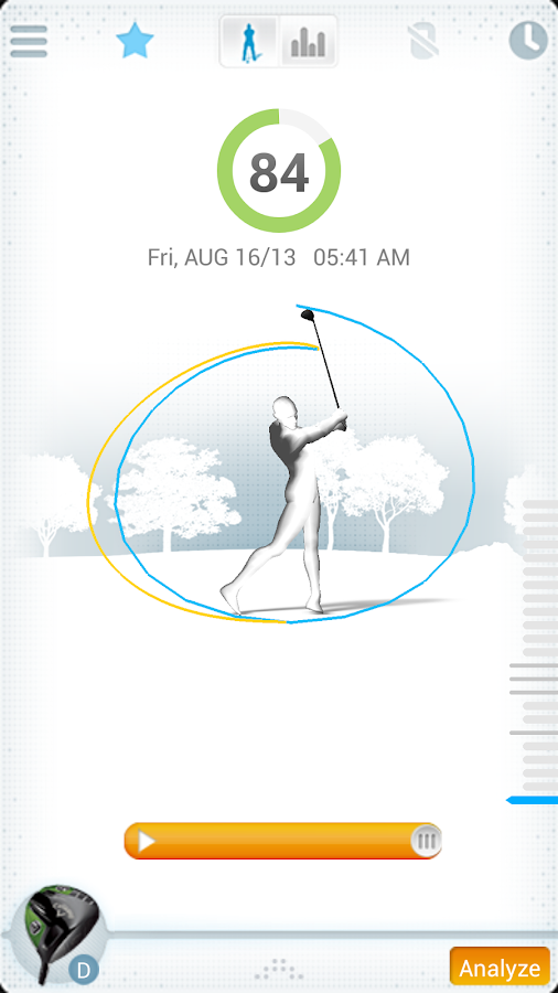 GolfSense - screenshot