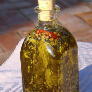 Sicilian Infused Olive Oil with Chilli.