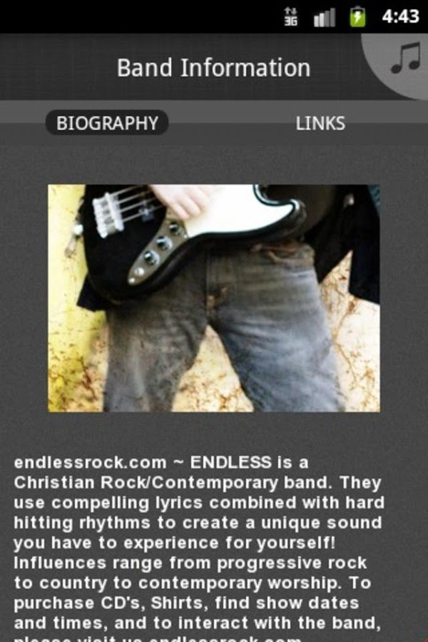 ENDLESS -Christian Rock / Cont- screenshot