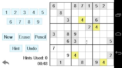 Sleek Simple Sudoku