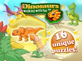 Screenshot of Dinosaurs walking with fun XL