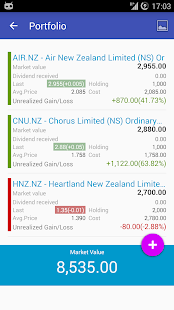 My NZX New Zealand Stock Exch - náhled