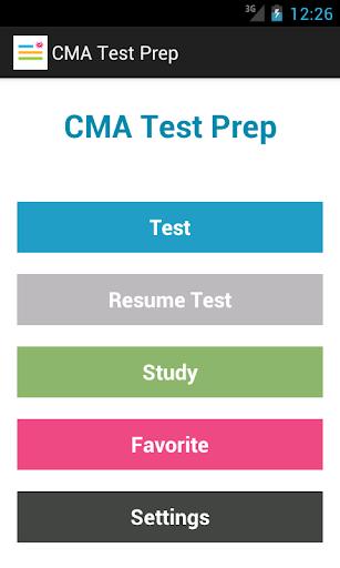 CMA Test Prep
