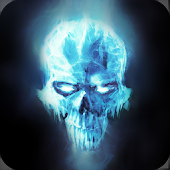 Ice Skull LWP Animated
