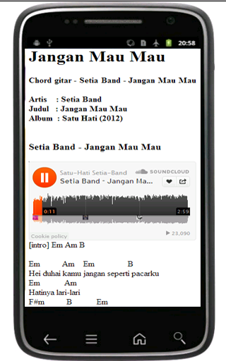 Setia Band - screenshot