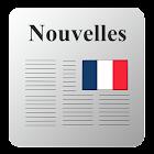 Journaux et magazines français icon