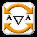 かおすうぃんぐ(振って顔文字入力) logo