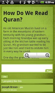 Islamic Moral Stories - screenshot thumbnail