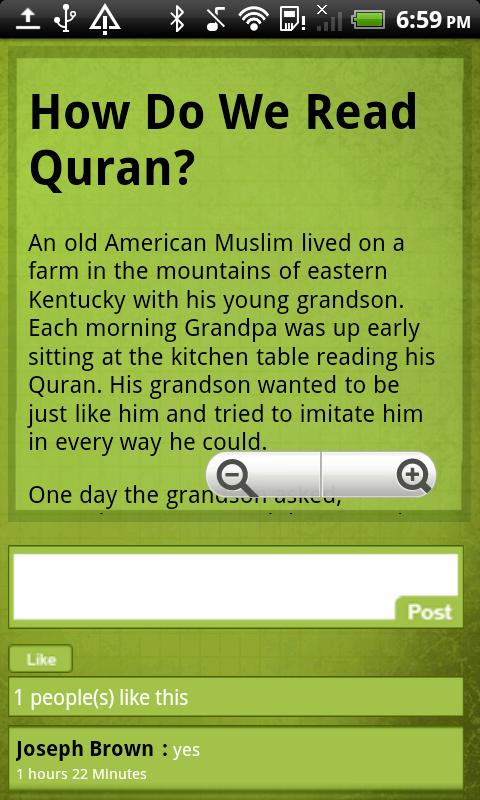 Islamic Moral Stories - screenshot