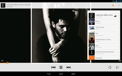 Google Play Music - screenshot thumbnail