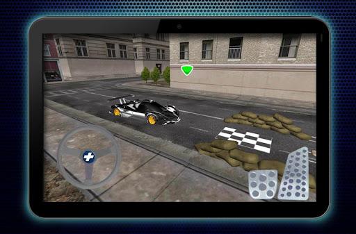 真正的賽車停車場3D遊戲