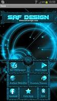 Screenshot of Next Launcher Neon Theme