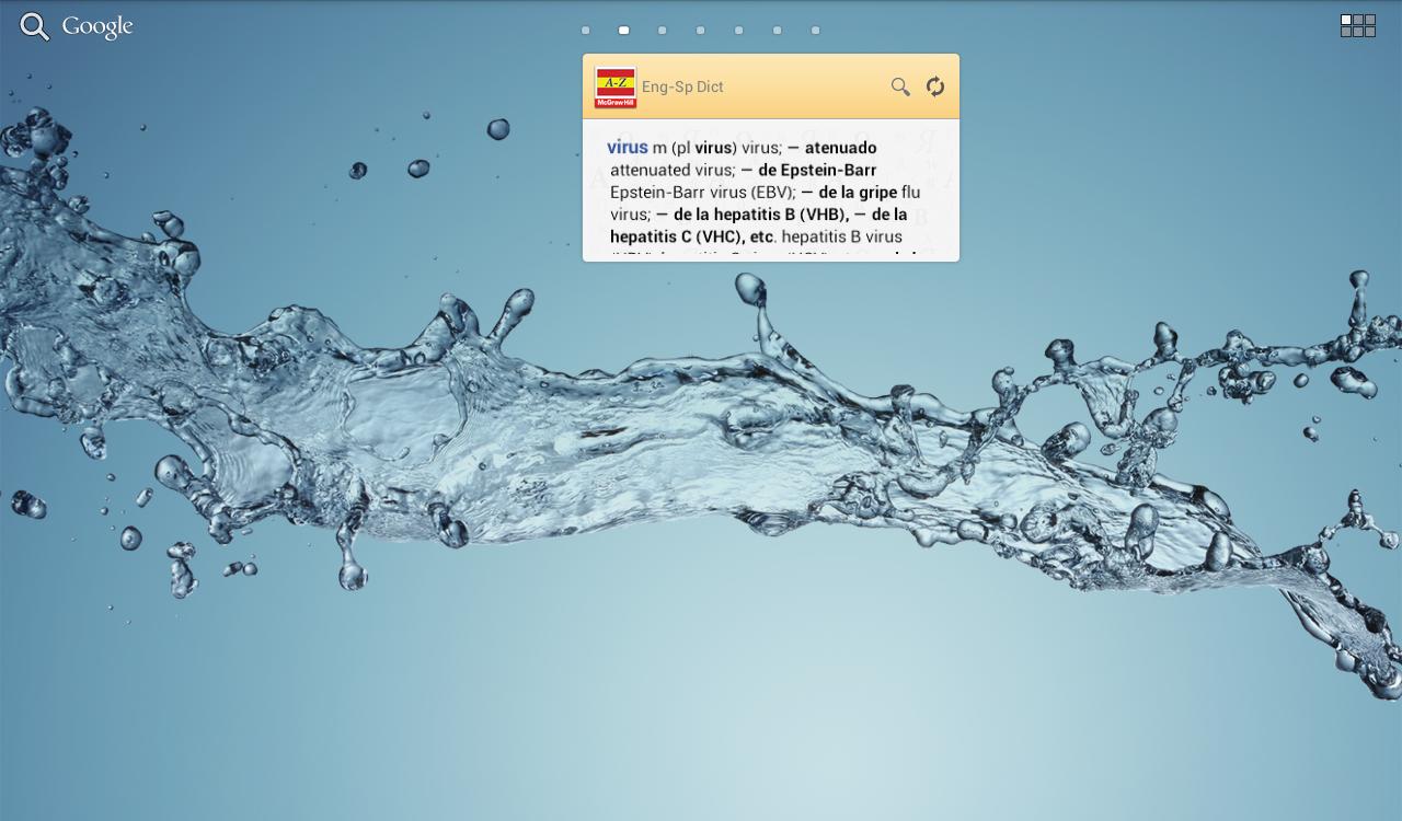 English<>Spanish Medical Dict - screenshot