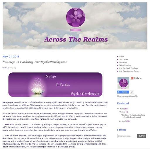 Psychic Blog