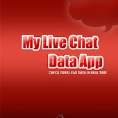 My Live Chat Data App