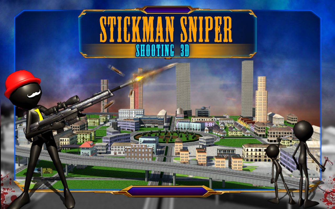 2 player fighting games stickman sniper