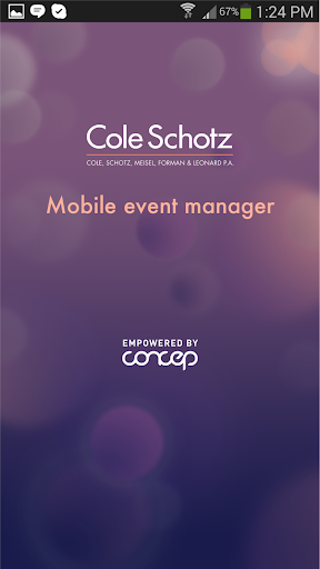 Cole Schotz Event Manager