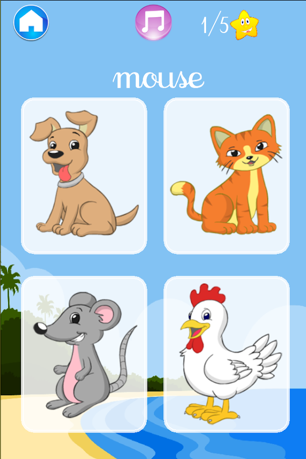 I learn Animals - for kids- screenshot
