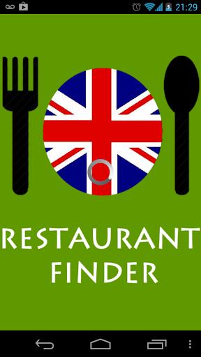 Restaurant Finder - London UK