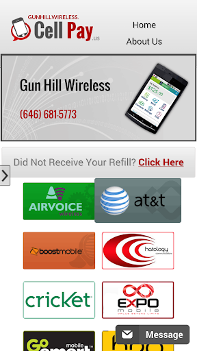 Cell Phone Refill