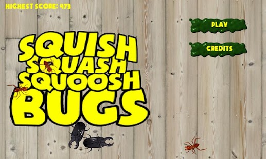 SQUISH SQUASH SQUOOSH BUGS!- screenshot thumbnail