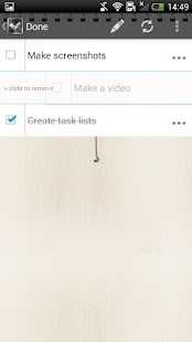 Done • To do list / Task list - screenshot thumbnail