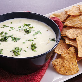 Slow-Cooker Green Chile Queso Dip.
