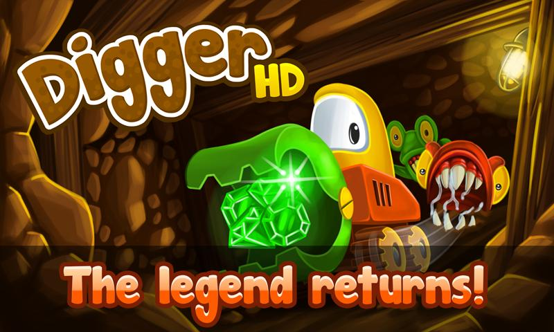 Digger HD- screenshot