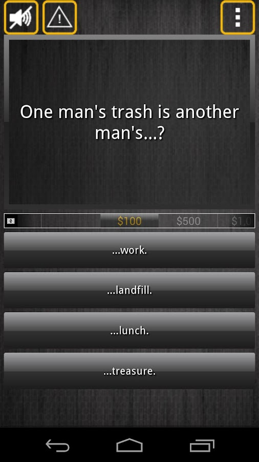 Who Becomes Rich (Trivia Quiz)- screenshot