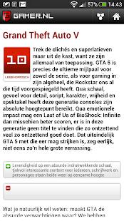 Gamer.nl - screenshot thumbnail