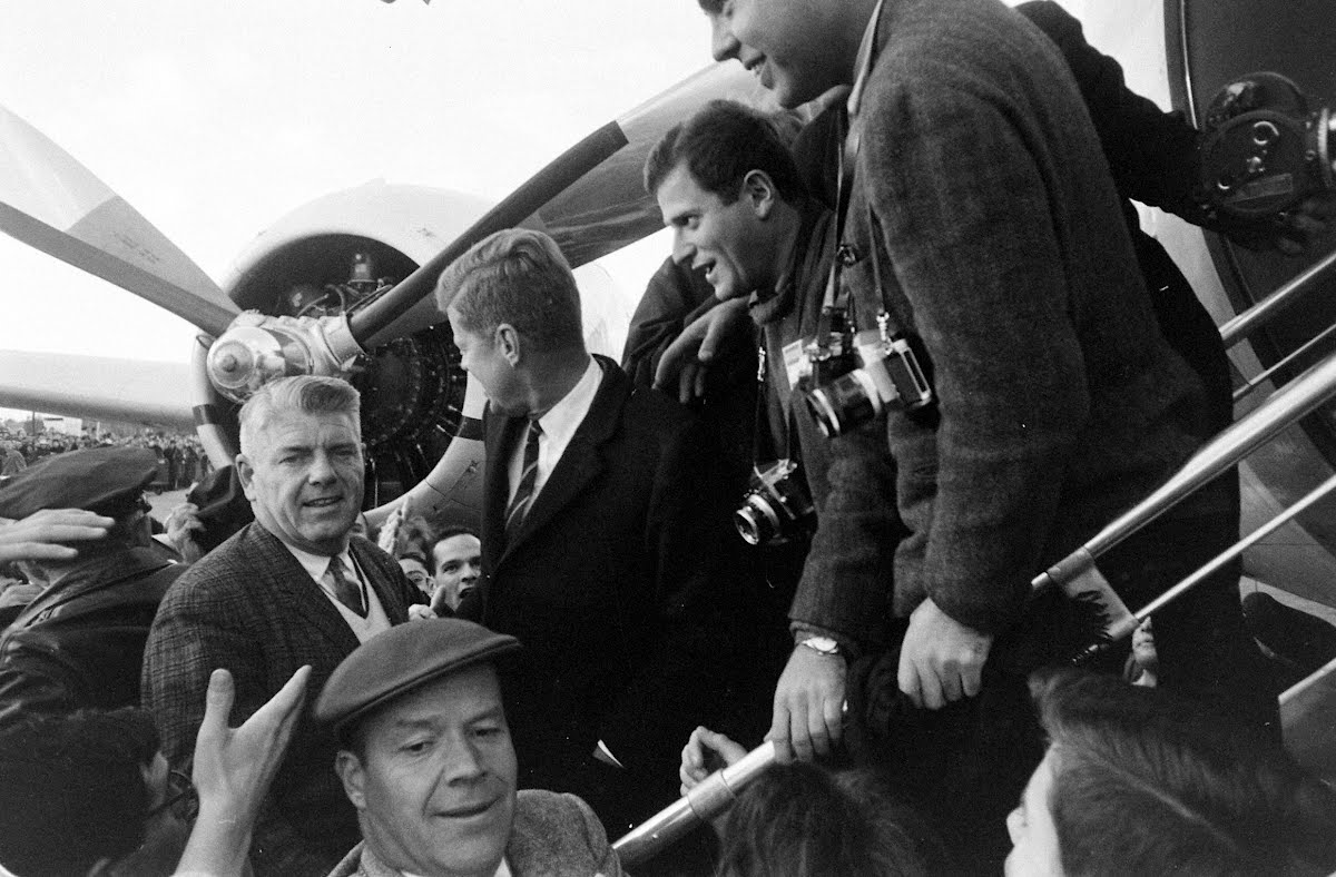 Windup Of Kennedy Campaign