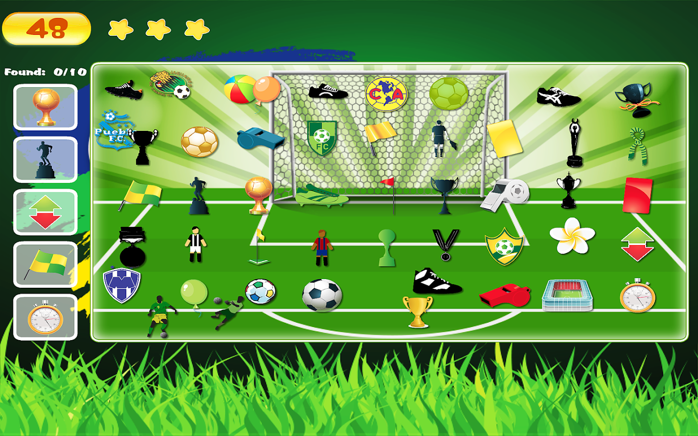 World Cup Hidden Objects- screenshot