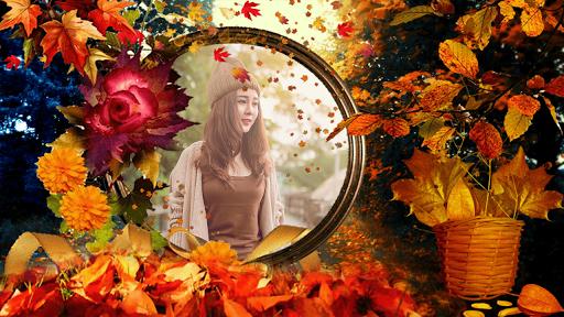 Autumn Beauty Frames Camera