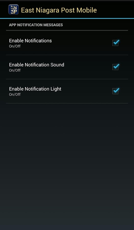 ENP Mobile- screenshot