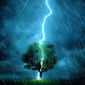 Rain and Lightning HD. LWP.