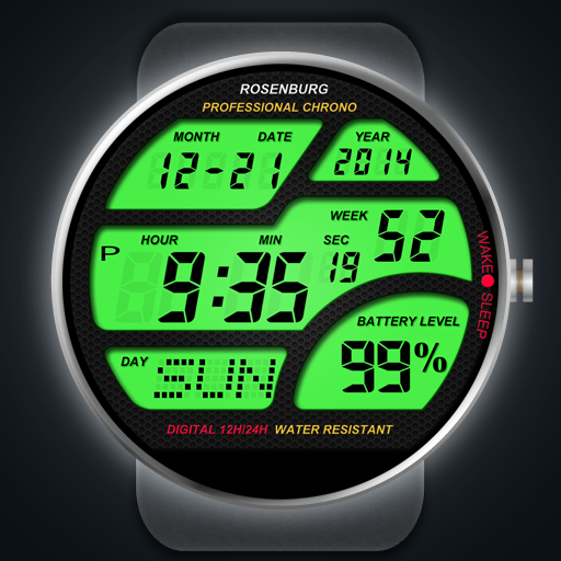 A41 WatchFace for Moto 360- screenshot