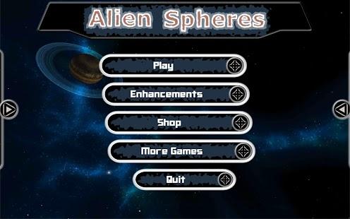 Alien Spheres - screenshot thumbnail