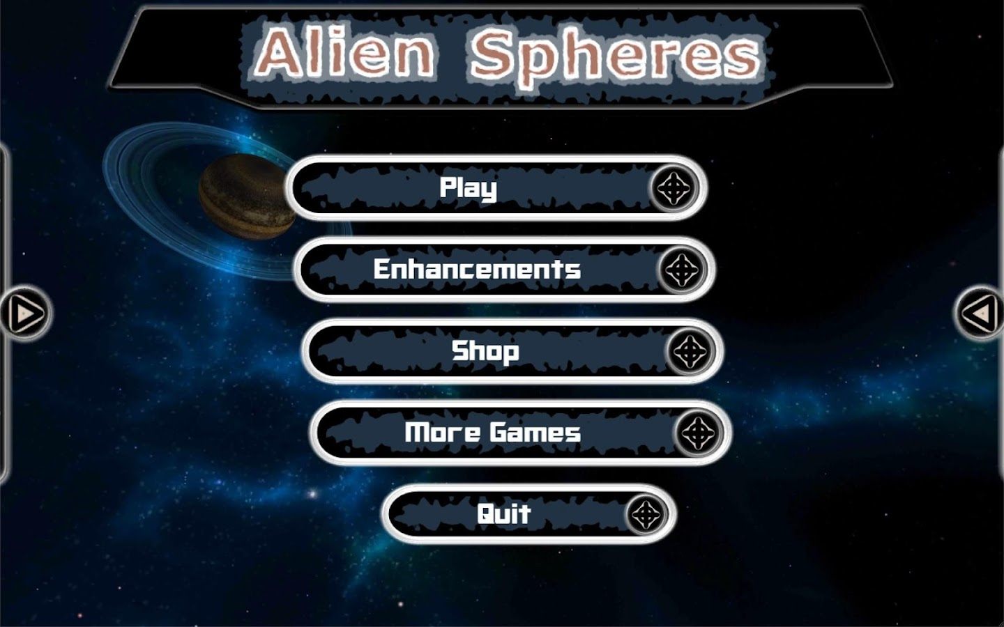 Alien Spheres- screenshot